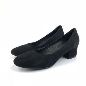 Jeffrey Campbell Black Suede Bitsie Pumps Heels